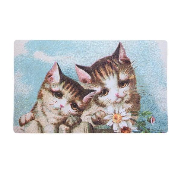 Rohožka s koťátky Kitten, 73x44 cm