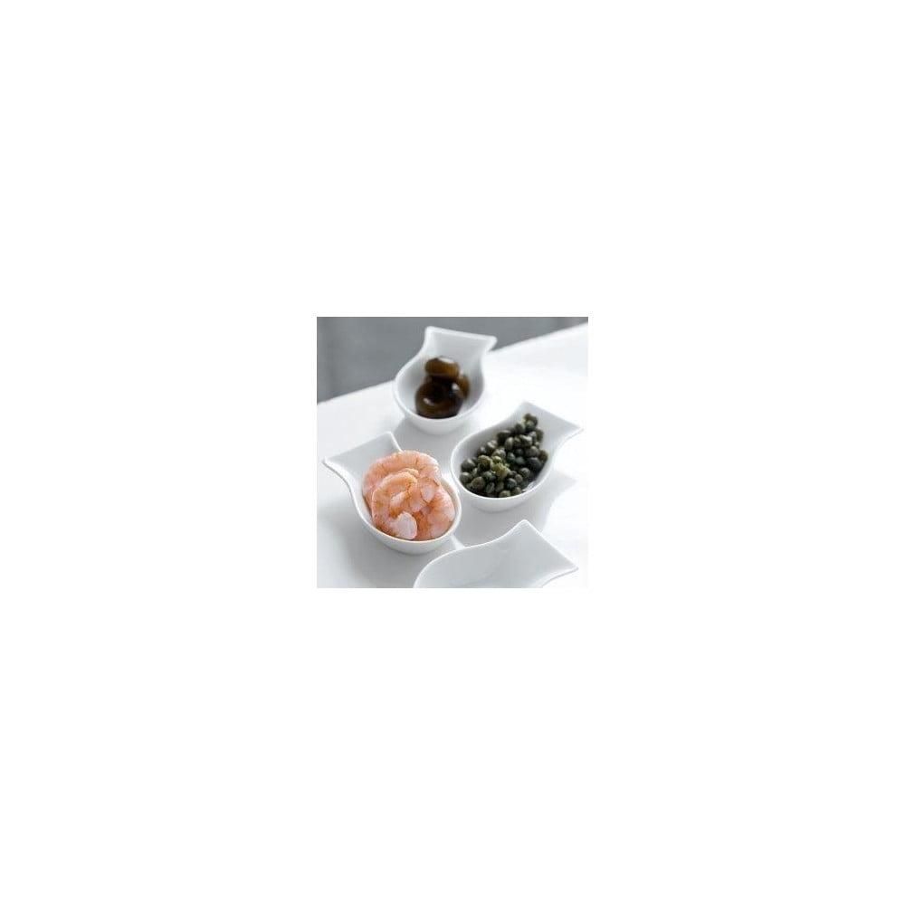 Set 4 porcelánových servírovacích misek Steel Function Capri