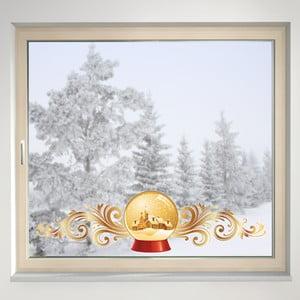 Elektrostatická samolepka Sněžítko
