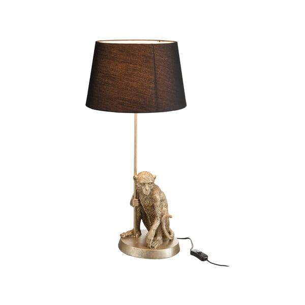 Stolní lampa Monkey, černé stínítko