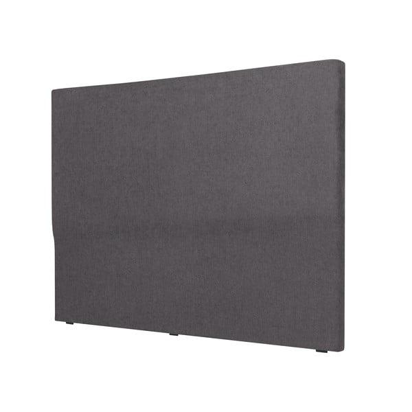 Tmavě šedé čelo postele Windsor & Co Sofas, 140x120cm