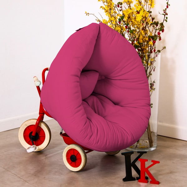 Dětské křesílko Karup Baby Nest Magenta