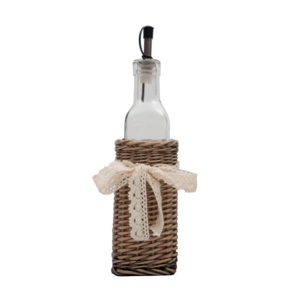 Sklenka na olej v košíčku Bottle