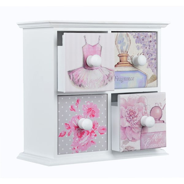 Šuplík Fragrance, 4 zásuvky