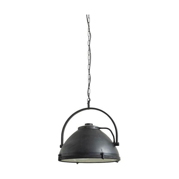 Závěsné svítidlo Factory 51 cm, černé