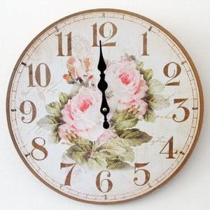 Vintage hodiny Růže II