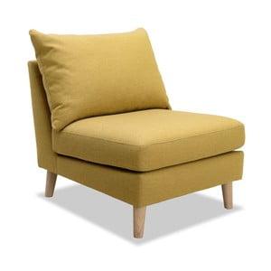 Žluté křeslo Vivonita Liam