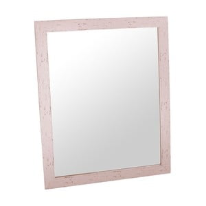 Zrcadlo Romantic 46x56 cm, růžový rám