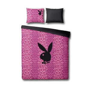 Povlečení Playboy Pink Leopard, 140x200 cm
