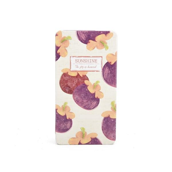Plechový zápisník Sunshine, lilek