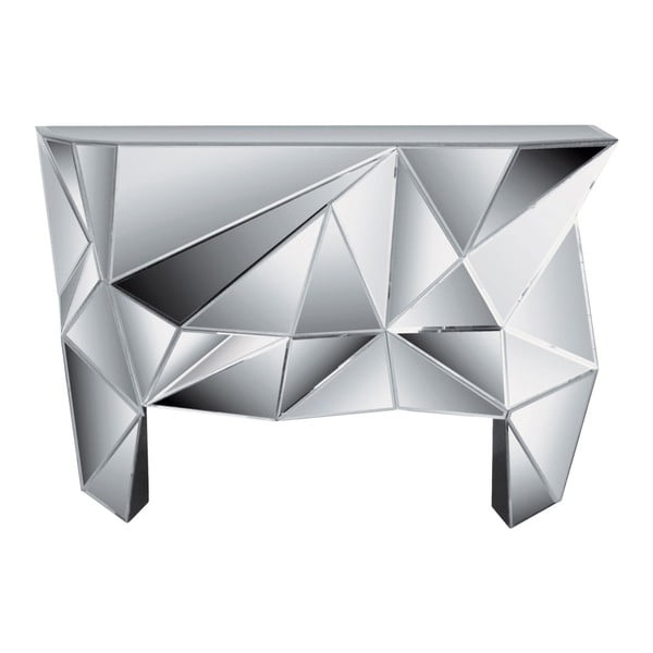 Masă tip consolă din sticlă Kare Design Prisma