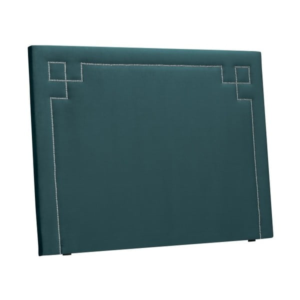 Petrlolejově zelené čelo postele THE CLASSIC LIVING Nicolas, 180 x 120 cm