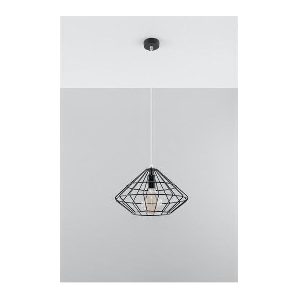 Lustră Nice Lamps Editta, negru