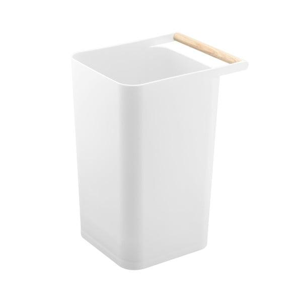 Coș de gunoi pentru hârtii YAMAZAKI Como, alb