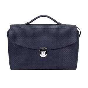 Kožená kabelka Isy Blue