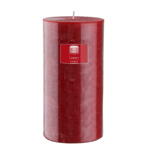 Svíčka 20 cm, červená, 160 hodin hoření
