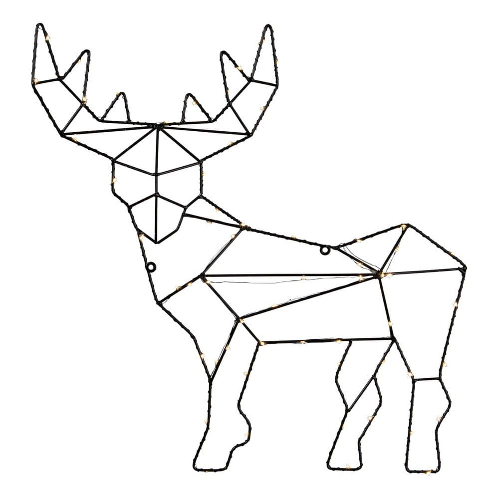 Světelná LED dekorace Best Season Reindeer