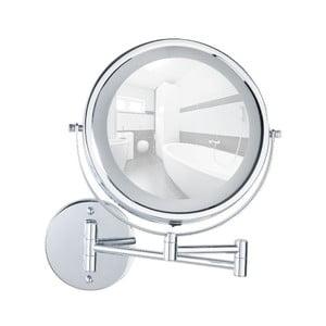Nástěnné zvětšovací zrcadlo s LED osvětlením Wenko Lumi