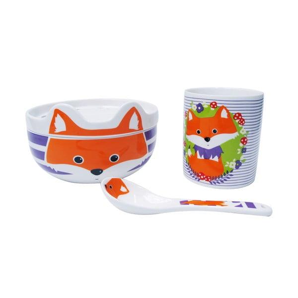 Dětský porcelánový set Happy Fryderyk