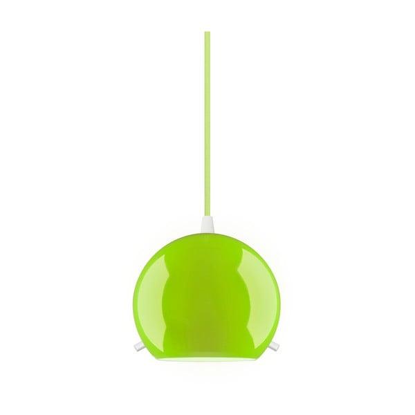 Zelené lesklé závěsné svítidlo Sotto Luce MYOO