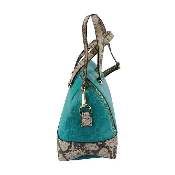Kožená kabelka Jessy Turquoise