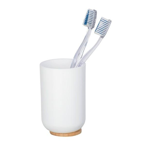 Suport pentru periuțe dinți Wenko Posa, alb