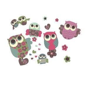 Samolepka Owls Medium