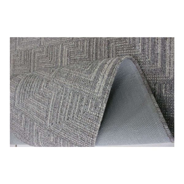 Koberec Pinnacle Grey, 167x233 cm