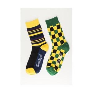 Sada 2 párů ponožek Funky Steps Hype, univerzální velikost