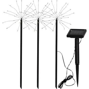 Set 3 lampadare solare pentru exterior Best Season Firework imagine