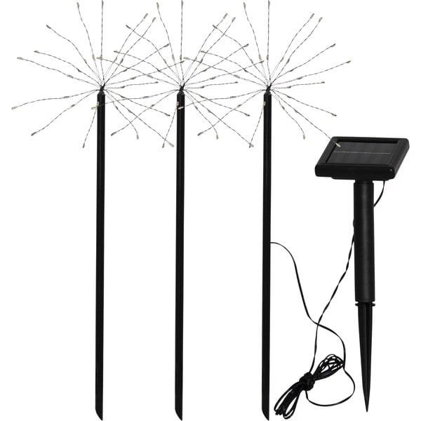 Set 3 lampadare solare pentru exterior Best Season Firework