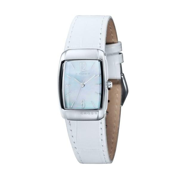 Dámské hodinky Cross Arial Barrel White, 25 mm