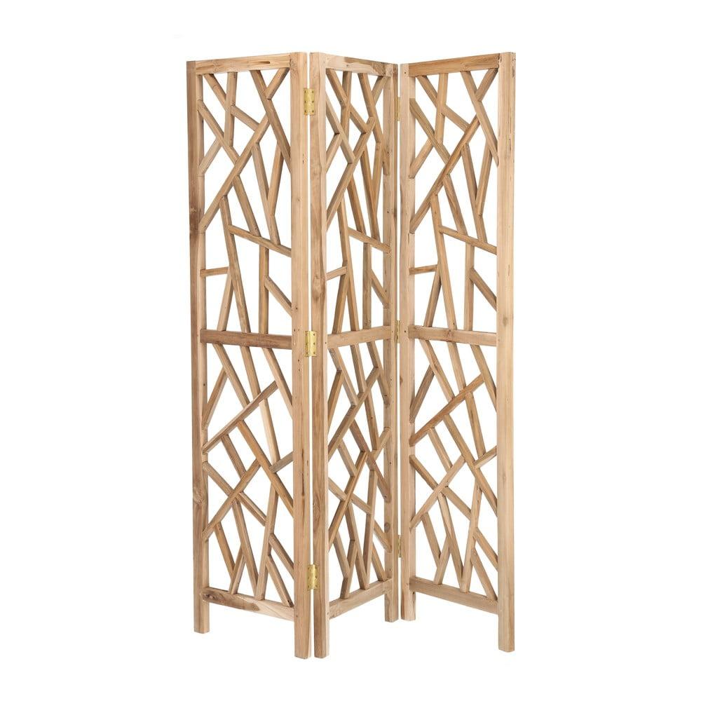 Dřevěný skládací paraván La Forma AUSTY