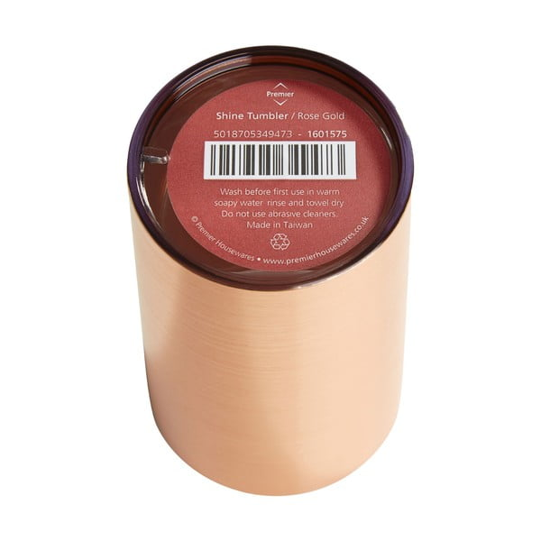 Kelímek na zubní kartáčky v barvě růžového zlata Premier Housewares Shine