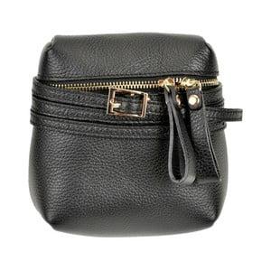 Černá kožená kabelka Renata Corsi Daluda