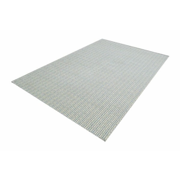 Ručně tkaný koberec Flat Honey Sky, 140x200 cm