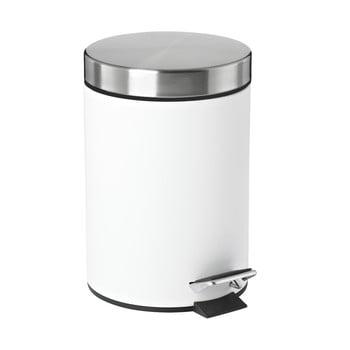 Coș de gunoi cu pedală Zone Confetti, 3 l, alb de la Zone