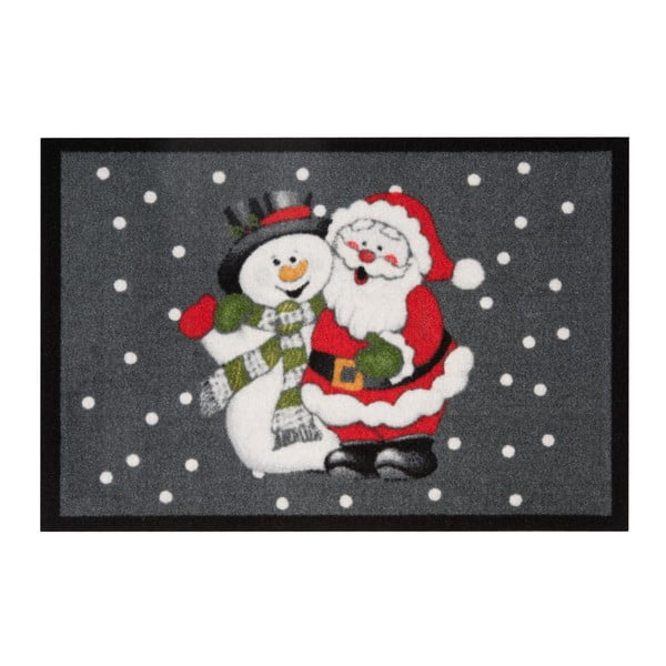 Rohožka Zala Living Santa and Snowman, 40 × 60 cm