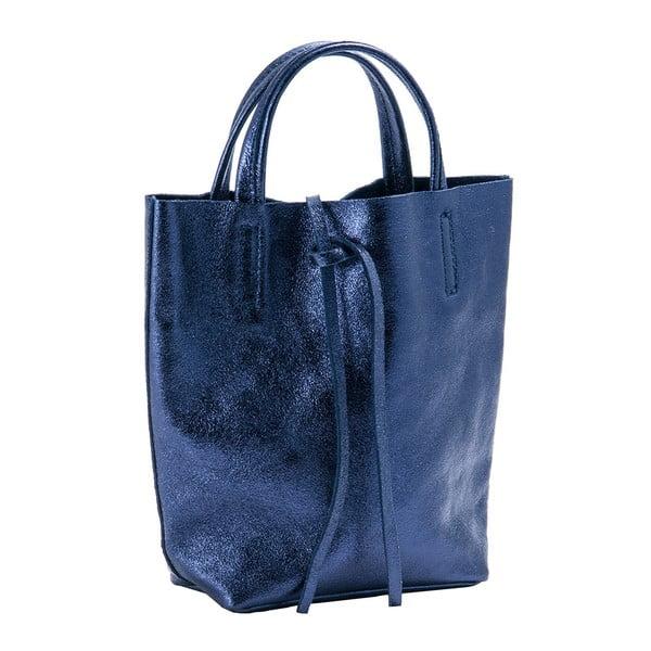 Modrá kabelka z pravé kůže Andrea Cardone Kuliga