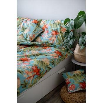 Lenjerie de pat din bumbac Cotton House Jungle, 140 x 200 cm poza