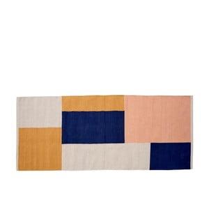 Covor din bumbac Södahl Block, 75 x 180 cm