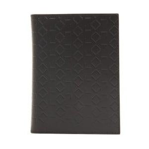 Černá kožená pánská peněženka Alviero Martini Basso