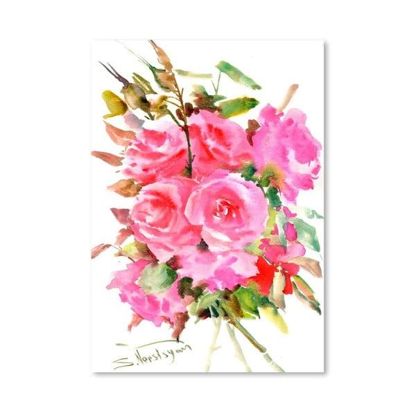 Plakát Tea Roses od Suren Nersisyan