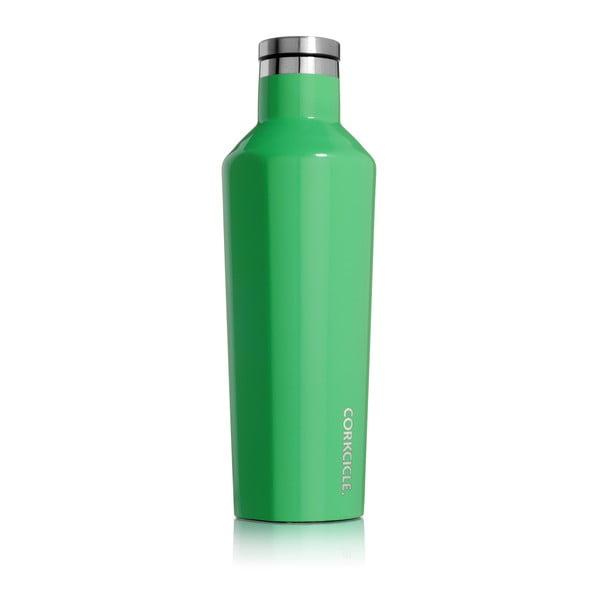 Zelená cestovní lahev Corkcicle Carribbean Green Medium, 473 ml