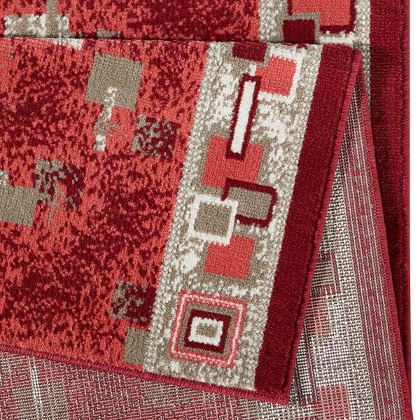 Koberec Basic Retro, 80x350 cm, červený
