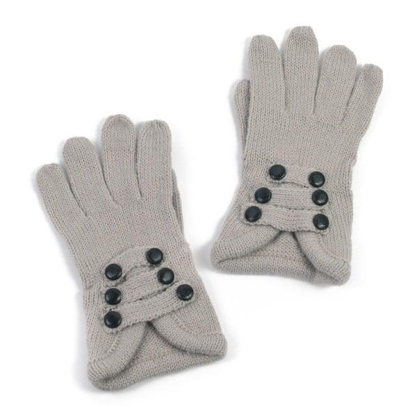 Šedé rukavice Iris