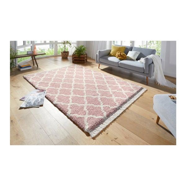 Růžový koberec Mint Rugs Marino, 80x150cm