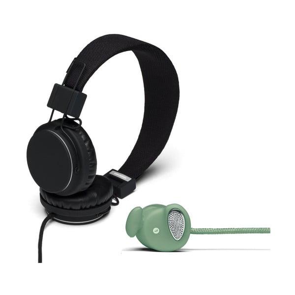 Sluchátka Plattan Black + sluchátka Medis Sage ZDARMA