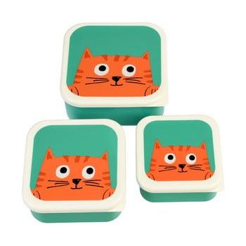Set 3 cutii pentru gustări Rex London Chester Cat imagine