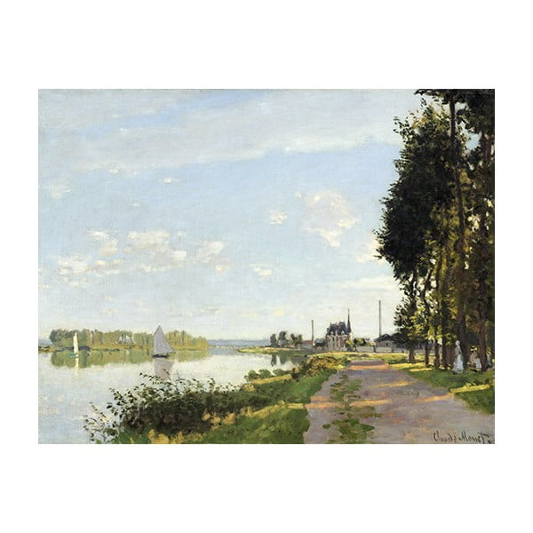 Obraz Claude Monet - Argenteuil, 70x55 cm